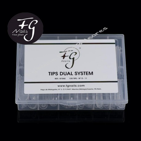 TIPS DUAL SYSTEM FG NAILS
