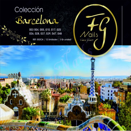 Colección BARCELONA acrílicos color