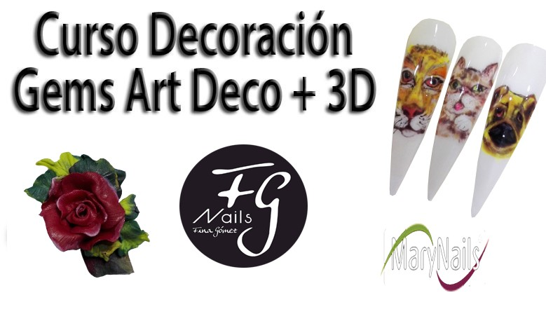 Curso Decoración Gems Art Deco y 3D