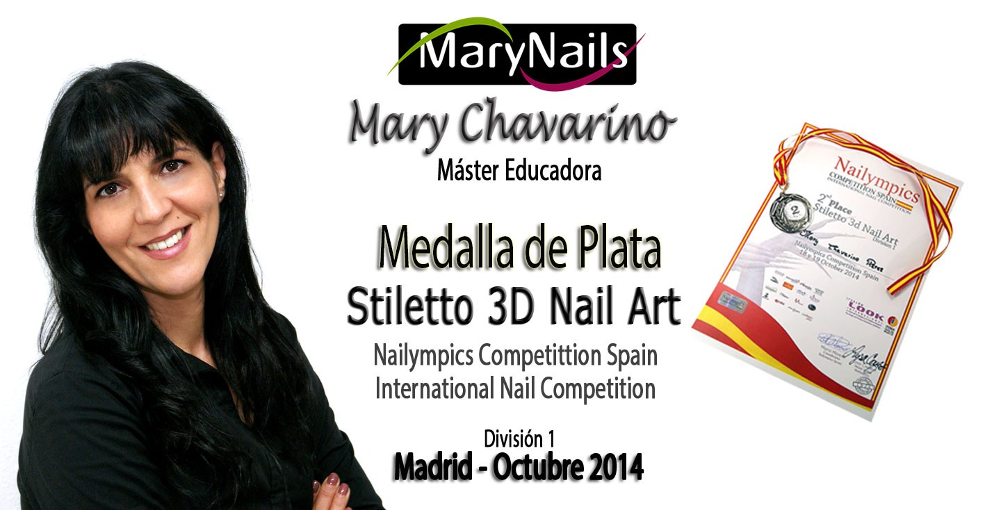 Mary Chavarino Máster Educadora MaryNails
