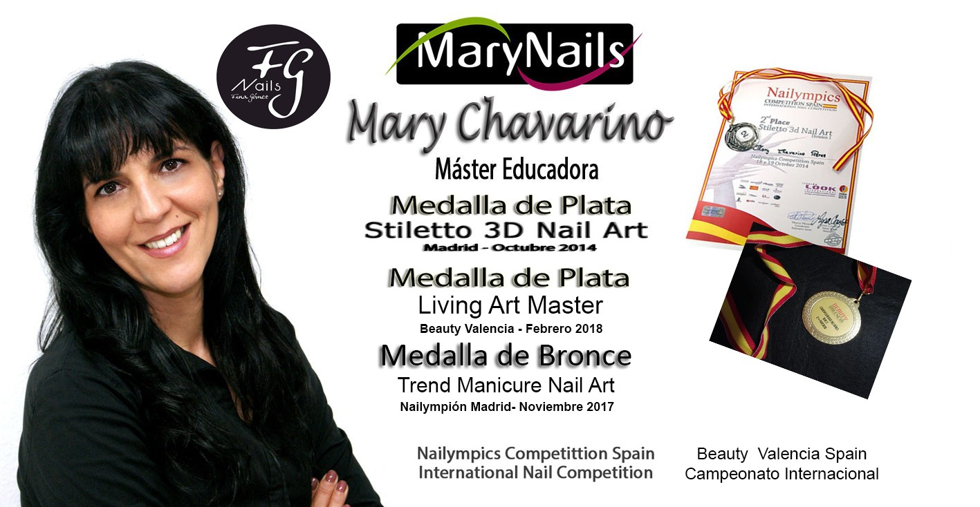 Mary Chavarino Máster Fg Educadora MaryNails
