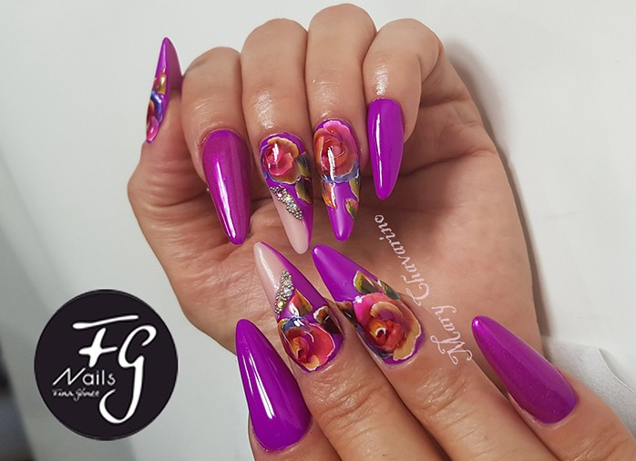 Uñas decoración cursos en Mallorca fg nails